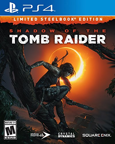 Shadow of the Tomb Raider (Limited Steelbook Edition) - PlayStation 4 (Horizon Zero Dawn Playstation 4 Collectors Edition)