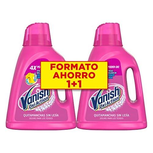 chollos oferta descuentos barato Vanish Oxi Action Quitamanchas para Ropa Blanca y de Color en Gel Sin Lejía Pack de 4 x 1800 ml