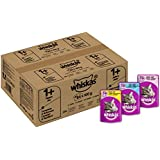 Whiskas Wet Cat Food 84 x 100 g Pouch for 1+ Adult, Mixed Selection in Jelly + Free 10g Whiskas Dentabites Sample