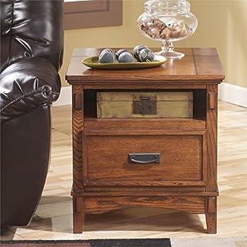 Amazon.com: Ashley Furniture Signature Design - Cross Island End ...