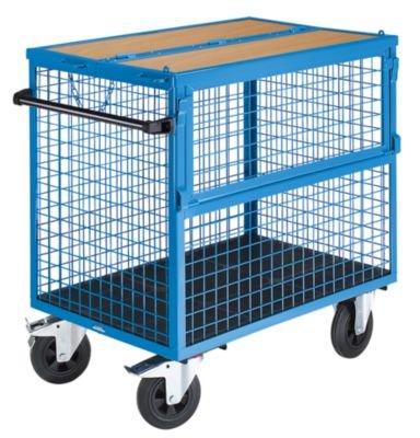 BEG Drahtkastenwagen mit Deckel .Tragfähigkeit 500 kg. 20028701