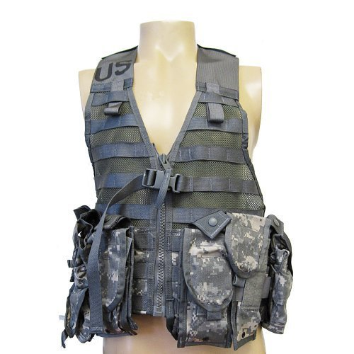 USGI ACU MOLLE 2 FLC Vest w/ 9 POUCHES - Rifleman Configuration! by Specialty Defense Systems