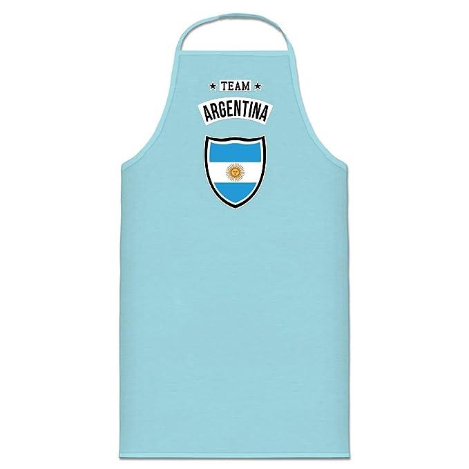 Shirtcity Delantal de cocina Team Argentina by: Amazon.es ...