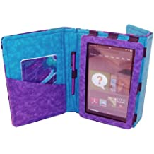 Fashion Tec Water Slick Kindle Fire Protective Case Cover with Stand, Includes Stylus and Screen Cleaner Cloth - Fits Kindle Fire (Does Not Fit Kindle Fire HD)
