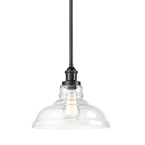 Eul Industrial Style Pendant Lighting Oil Rubbed Bronze Hanging Light Fixture