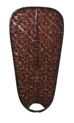 ndard Oar Bamboo Blade, 22-Inch, Antique, Set of 5 (Woven Blade Set)