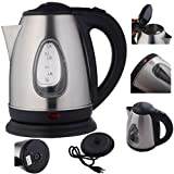 Electric Kettle Tea Hot Water Boiler Heater Stainless Steel 1500W 1.8 Liter Stovetop LED Light Indicator Brand New