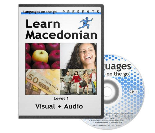 Price comparison product image Learn Macedonian - Visual Learning System for PC, MAC, Ipod, MP3 Player