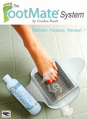 The-FootMate-System-Foot-Massager-Scrubber-w-Rejuvenating-Gel-White