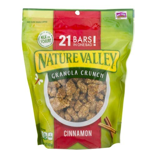 Granola Cinnamon Crunch (Nature Valley Cinnamon Granola Crunch (Pack of 10))
