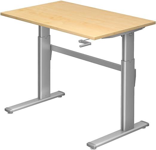 Dr de oficina pie Asiento escritorio altura regulable hasta 119 cm ...