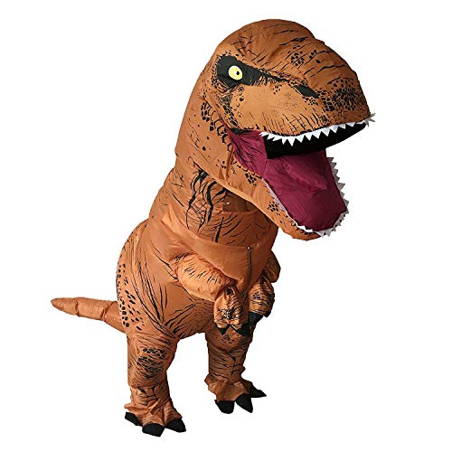 HEYMA T-Rex Costume Inflatable Dinosaur Costume for Adult Halloween Inflatable Costume -