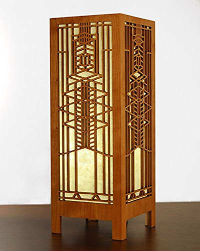 Frank Lloyd Wright Lamps - Frank Lloyd Wright Robie Art Glass Lightbox Accent Lamp