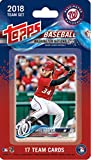 2018 Topps Baseball Factory Washington Nationals Team Set of 17 Cards which includes: Bryce Harper(#WN-1), Anthony Rendon(#WN-2), Ryan Madson(#WN-3), Gio Gonzalez(#WN-4), Adam Eaton(#WN-5), Ryan Zimmerman(#WN-6), Daniel Murphy(#WN-7), Wilmer Difo(#WN-8), Stephen Strasburg(#WN-9), Sean Doolittle(#WN-10), Max Scherzer(#WN-11), Tanner Roark(#WN-12), Michael Taylor(#WN-13), Trea Turner(#WN-14), Matt Wieters(#WN-15), Erick Fedde RC(#WN-16), Victor Robles RC(#WN-17)