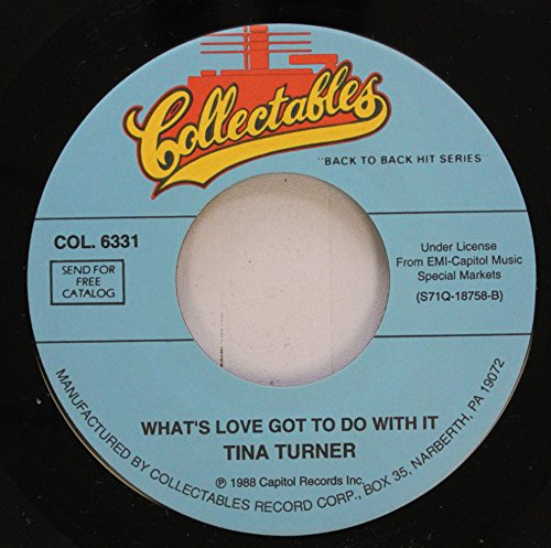 Tina Turner 45 RPM What''s Love Got To Do With It / Private Dancers (Tina Turner Vinyl Private Dancer)