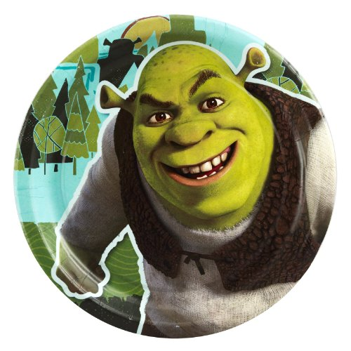 Shrek 'Forever After' Small Paper Plates (8ct)]()