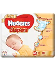 HUGGIES Gold New Born Diapers, 78ct