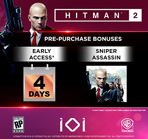 Amazon Com Hitman 2 Gold Edition Xbox One Whv Games Video Games