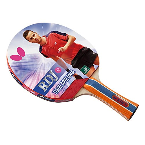 Butterfly RDJ S3 Table Tennis Racket – ITTF Approved Ping Pong Paddle – Great Spin, Speed Control Ping Pong Racket