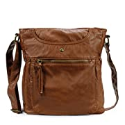 Amazon Lightning Deal 64% claimed: Scarleton Soft Multi Pocket Crossbody Bag H1812