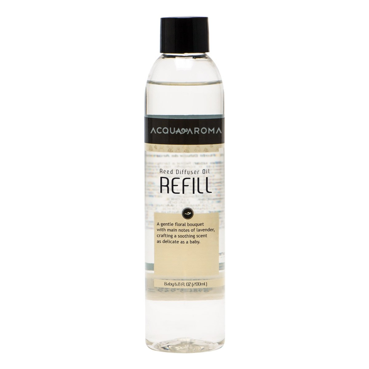 Acqua Aroma Baby Collection Reed Diffuser Oil Refill 6.8 FL OZ (200mL) by Acqua Aroma (Image #1)