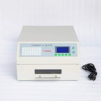 Wotefusi Industrial Nueva 220 V 1500 W Mini infrarrojos IC calentador horno de reflujo de soldadura