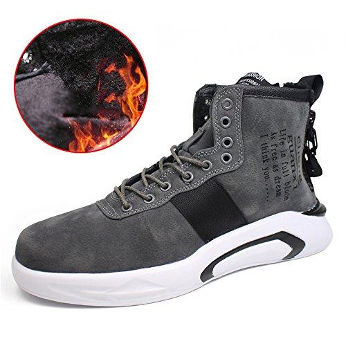 EU40 de altas tamaño 3 colores CN41 zapatillas informales color gris Zapatillas UK7 antideslizantes de Feifei hombre deporte ayudas xqSw1HpZw