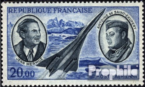 1723 Air - France 1723 (complete.issue.) 1970 Airmail (Stamps for collectors)