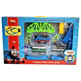 Kiditos Tomas & Friends Battery Operated Train Track Set with Over-Bridge + Tunnel