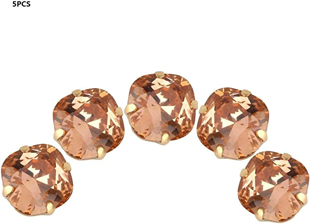 12mm paisley shape sew on stones Flat back gems stick on embellishments crafts