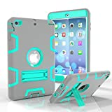 iPad Mini Case, iPad Mini 1/ 2/ 3 Case - MAKEIT 3in1 Hybrid