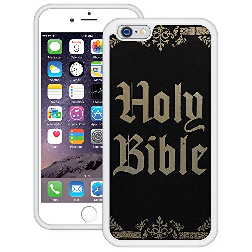 Bibel | Christlich | Handgefertigt | iPhone 6 6s (4,7') | Weiß TPU Hülle