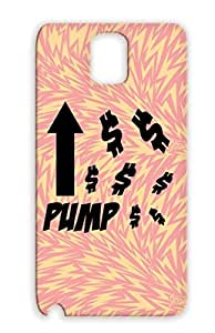 Black Shatterproof Geek Systems TPU Protective Hard Case For Sumsang Galaxy Note 3 PUMP