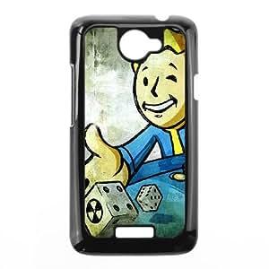 HTC One X Phone Case Black Vault Boy Fallout Game ESTY7797709