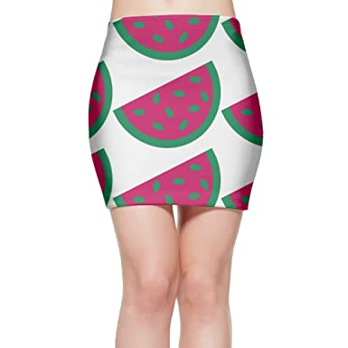 Amazon Com Sexylook Skirt Casual Melon Womens Foldover Waistband Bodycon Tube Mini Skirt Clothing