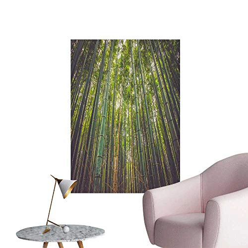 SeptSonne Wall Decoration Wall Stickers A Thick Bamboo Forest Print Artwork,20