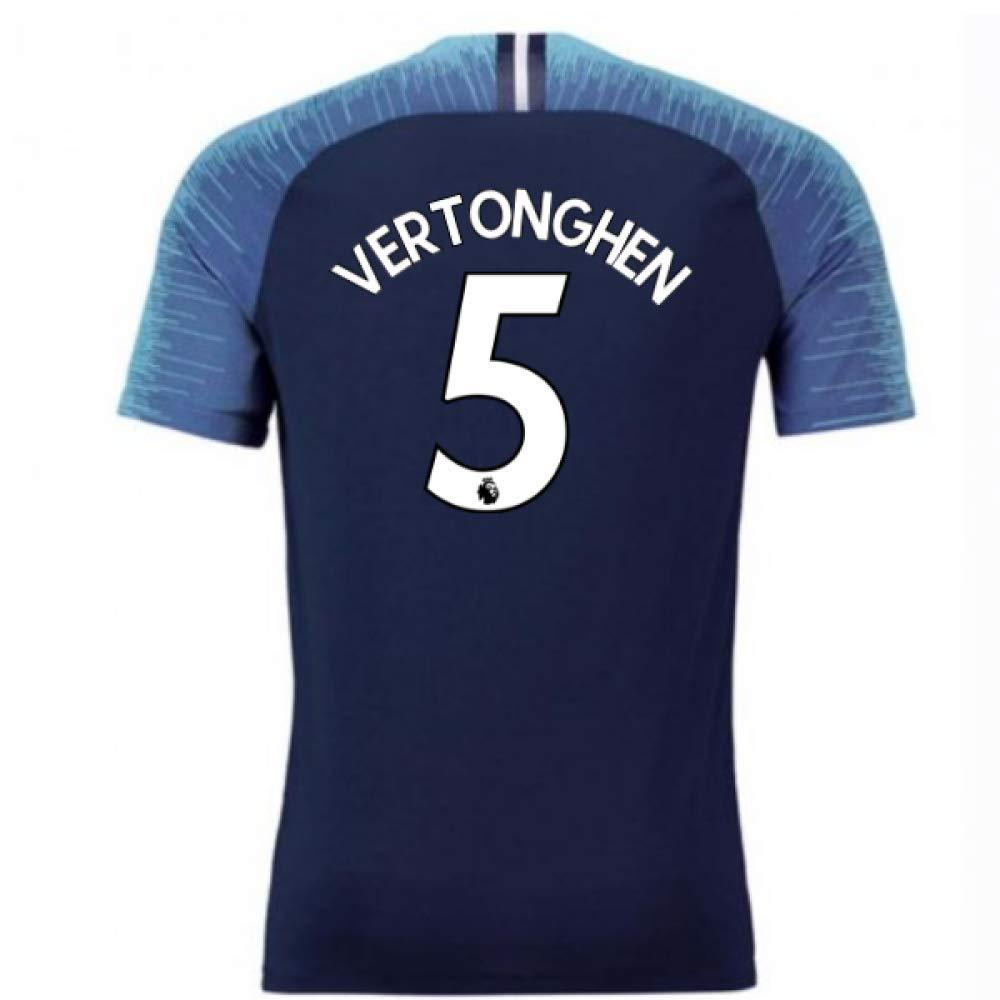 2018-2019 Tottenham Vapor Match Away Nike Football Soccer T-Shirt Trikot (Jan Vertonghen 5)