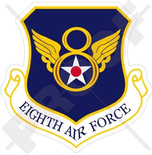 United States USAF 8th AF Badge SAC - USAAF Eighth AirForce Emblem - US, American 3,3