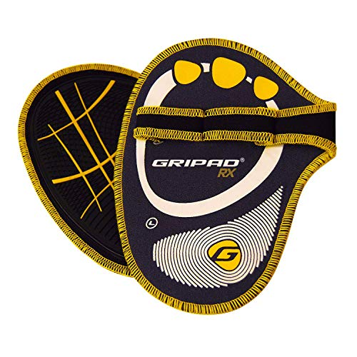 Gym Workouts WOD Gripad RX Lifting Grips Neoprene Hand Grips Flexible Rubber Palm The Most Durable Grip Pads Yet The Alternative to Weight Lifting Gloves Weightlifting