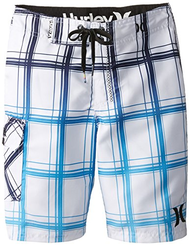 Hurley Big Boys' Puerto Rico Boardshort-White, White, (Hurley Kids Boys Shorts)