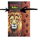 img - for Personalized Bible Custom Text Your Name NIrV Adventure Bible for Kids Hardcover Full Color Lion New International Version Custom Made Gift for Baptism Christenings Birthdays Celebrations book / textbook / text book