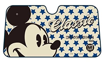 Amazon.com  Mickey Mouse Classic Face with Script and Blue Stars ... 653df69a1db