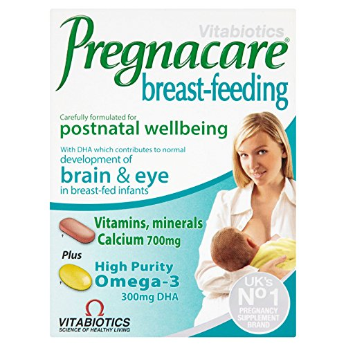 4 Units (Bulk Pack) Vitabiotics Pregnacare Breast-Feeding Dual Pack 84 Tablets / Capsules