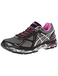 ASICS Womens GT-2000 3 Trail Charcoal/Lightning/Hot Pink 5 B - Medium