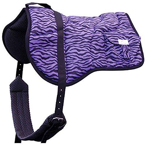 Best Friend Western Zebra Print Bareback Saddle Pad (Pad Saddle Back)