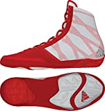 Adidas Pretereo III Wrestling Shoes - Red/Silver/White - 10.5