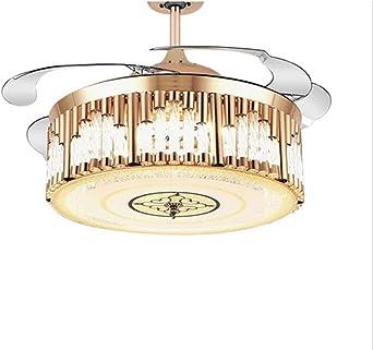 Ceiling Fan Light Modern Ceiling Fan Lights Dining Room Bedroom Remote Control Fan Lamps Invisible Ceiling Lights Fan Lighting Small Office Ceiling Fan Amazon De Beleuchtung
