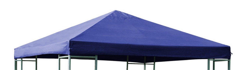 NFP Ersatzdach für Metall und Alu Pavillon Dach Pavillondach 3 x 3 Meter Wasserdicht Viele Farben, Farbe Blau