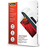 Fellowes Laminating Pouches, Thermal, SuperQuick 11.5(H) x 9(W) Size, 5 Mil, 100 Pack (5223001)