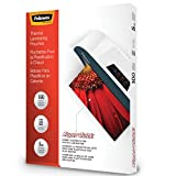 Fellowes Laminating Pouches, Thermal, SuperQuick 11.5''(H) x 9''(W) Size, 5 Mil, 100 Pack (5223001)